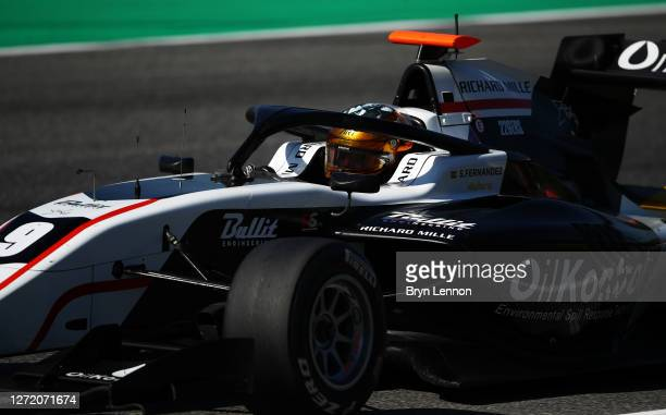 Sebastian Fernandez of Spain and ART Grand Prix drives on track during the Formula 3 Championship First Race at Mugello Circuit on September 12, 2020...