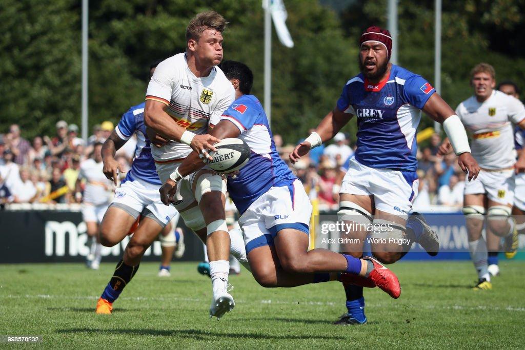 Germany v Samoa - Rugby World Cup 2019 Qualifier : Nachrichtenfoto