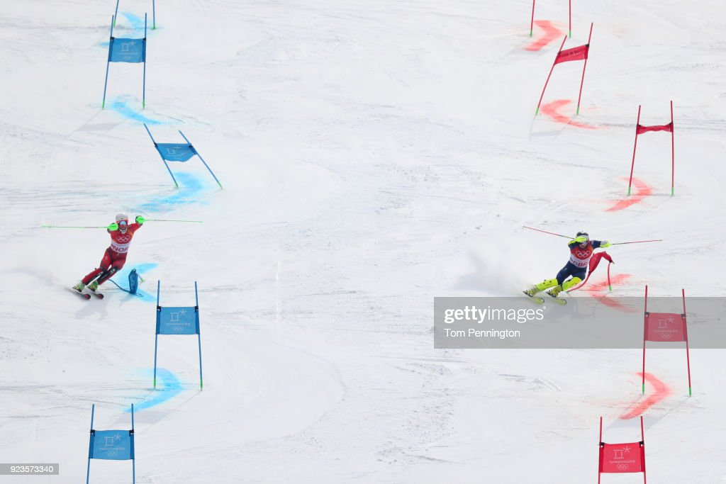 KOR: Alpine Skiing - Winter Olympics Day 15