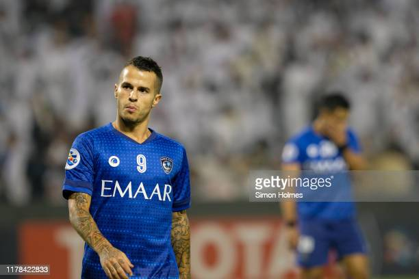 Sebastian Giovinco during the first leg of the AFC Champions League semi finals between Al Sadd and Al-Hilal at the Jassim Bin Hamad Stadium on 1st...