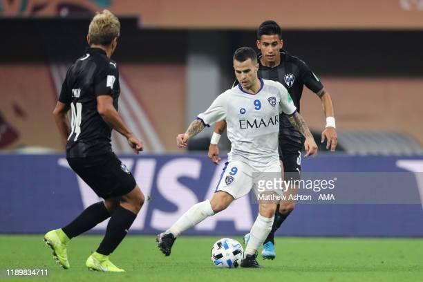 Sebastian Giovinco of Al Hilal during the FIFA Club World Cup Qatar 2019 Third Place Play Off match between Monterrey and Al Halil FC at Khalifa...