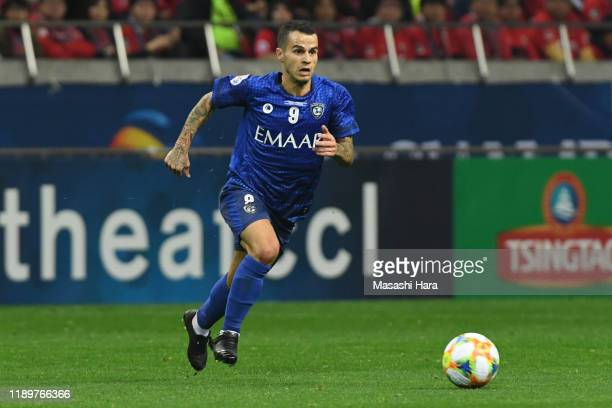 Sebastian Giovinco of Al Hilal in action during the AFC Champions League Final second leg match between Urawa Red Diamonds and Al Hilal at Saitama...