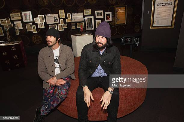 Sebastian Grainger and Jesse F Keeler of the Death from Above 1979 give an interview before an EndSession an EndSession hosted by 1077 The End at EMP...