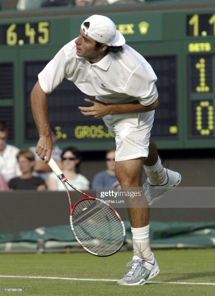 2005 Wimbledon Championships - Gentlemen's Singles - First Round - Michael