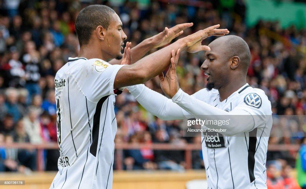 TuS Erndtebrueck v Eintracht Frankfurt - DFB Cup : News Photo