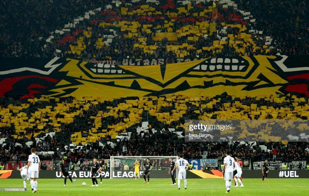 Eintracht Frankfurt v SS Lazio - UEFA Europa League - Group H : News Photo