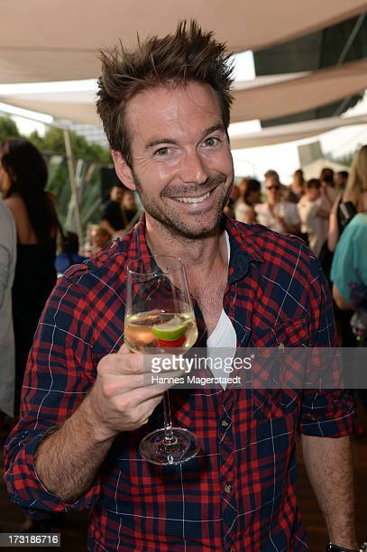 Sebastian Hoeffner attends the House of HaeagenDazs Barbecue Icecream Party at BMW World on July 9 2013 in Munich Germany