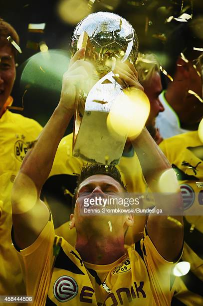 Sebastian Kehl of Borussia Dortmund in action during the Supercup 2014 match between Borussia Dortmund and FC Bayern Muenchen at Signal Iduna Park on...