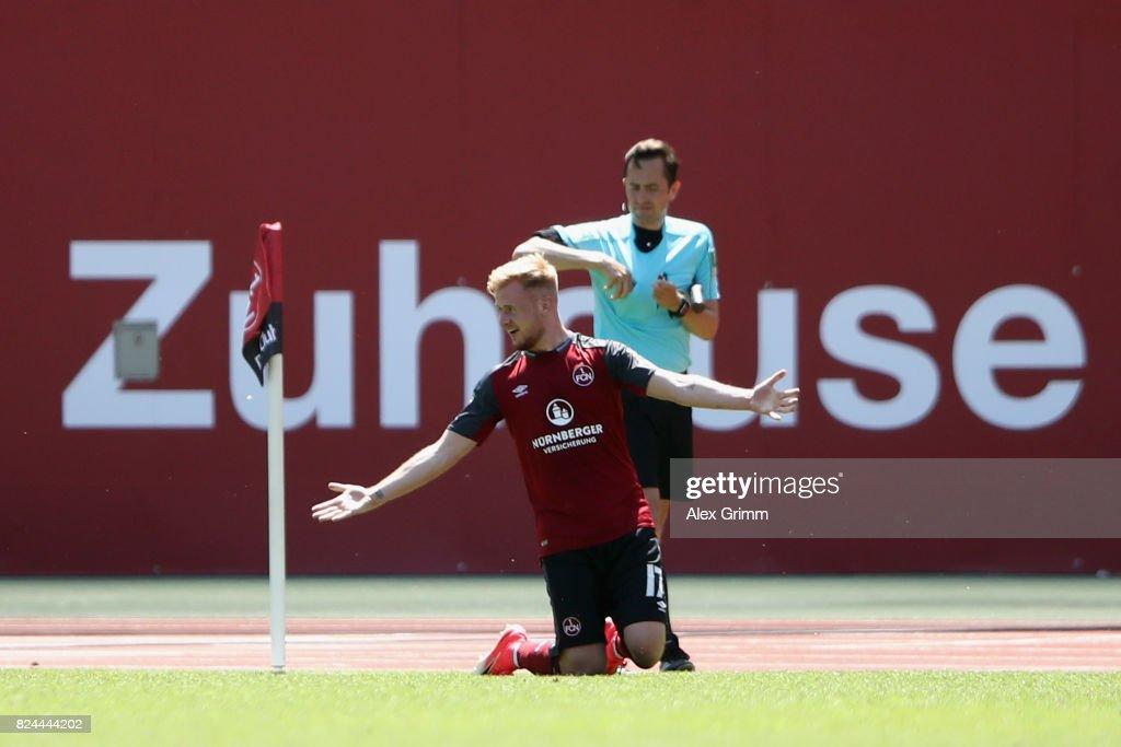 1. FC Nuernberg v 1. FC Kaiserslautern - Second Bundesliga : News Photo