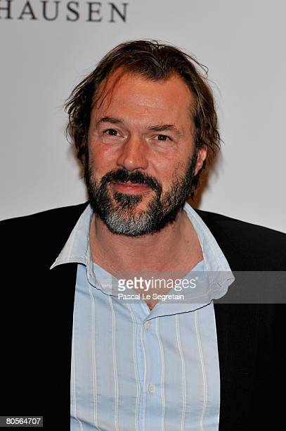Sebastian Koch attends 'The Crossing' gala event hosted by IWC Schaffhausen held at the Geneva Palaexpo on April 8 2008 in Geneva Switzerland