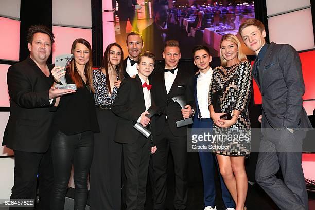 Sebastian Krumbiegel, singer of 'die Prinzen', Christina Stuermer, Luise Befort, Kai Pflaume, Nick Julius Schuck, Joshua Kimmich, FC Bayern Muenchen...