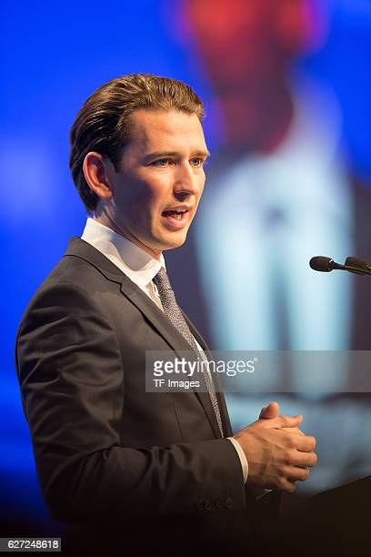 Sebastian Kurz Austrian Federal Minister looks on during at the annual CSU party congress on November 04 2016 in Munich Germany