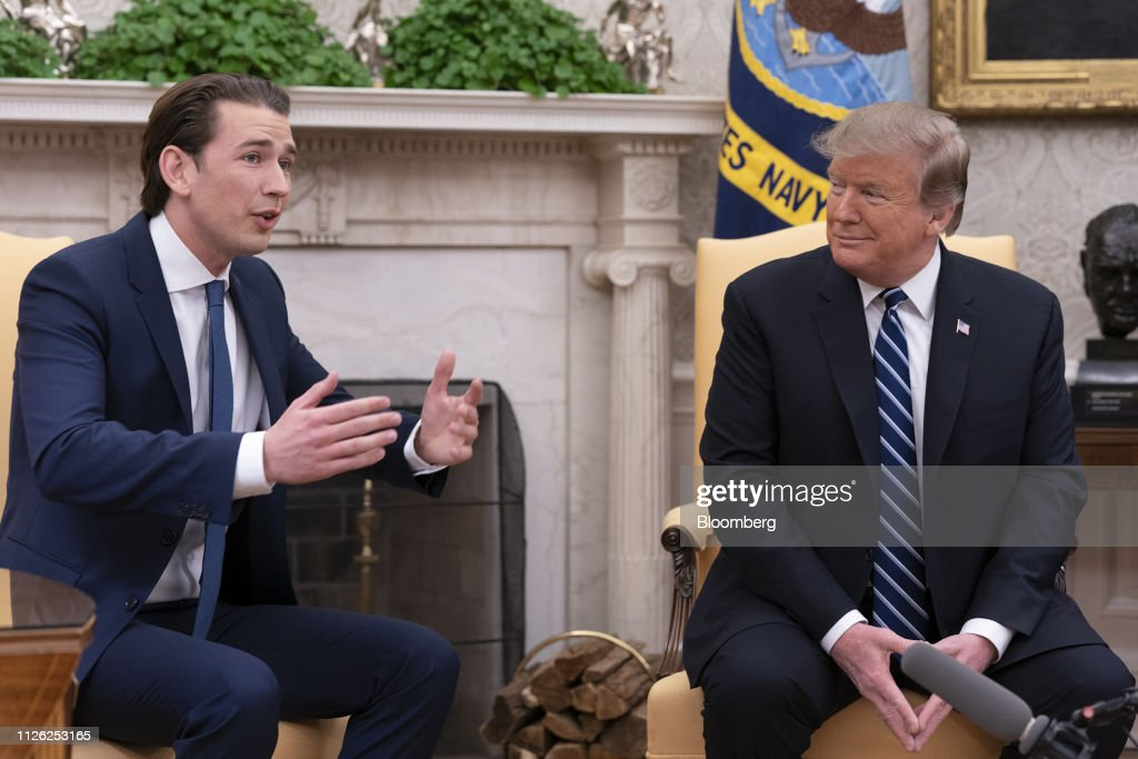DC: President Trump Meets With Austrian Chancellor Sebastian Kurz