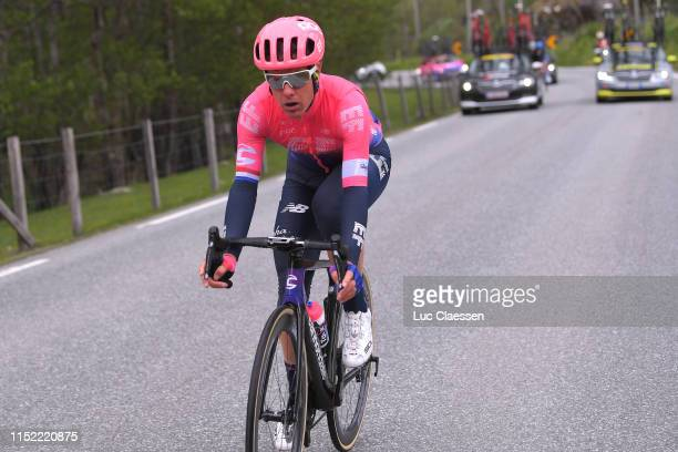 Sebastian Langeveld of The Netherlands and Team EF Education First / during the 9th Tour of Norway 2019 Stage 1 a 1682km stage from Stavanger to...
