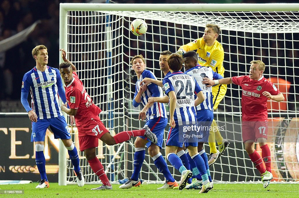 Hertha BSC v Hannover 96 - Bundesliga : News Photo
