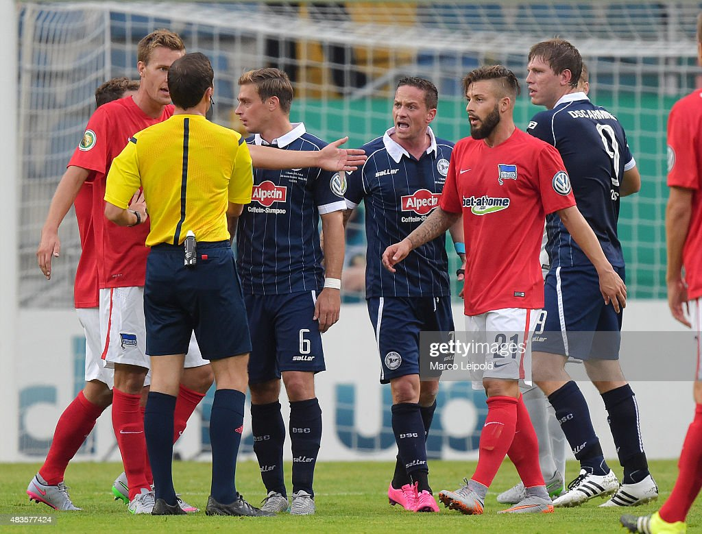 Arminia Bielefeld v Hertha BSC - German Cup