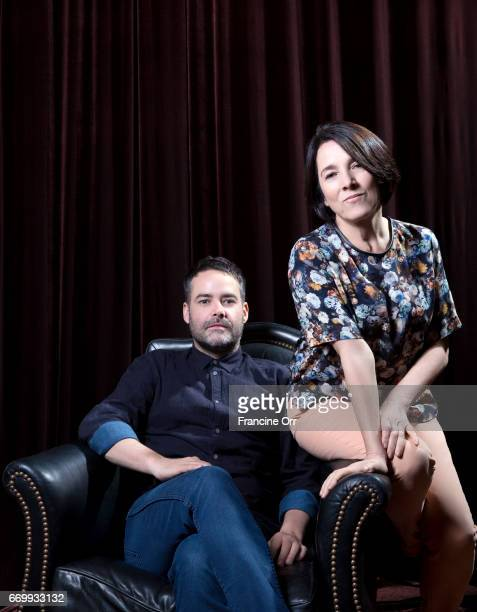 Sebastian Lelio and Paulina Garcia pose for Los Angeles Times on November 11 2013 in Hollywood California CREDIT MUST READ Francine Orr/Los Angeles...
