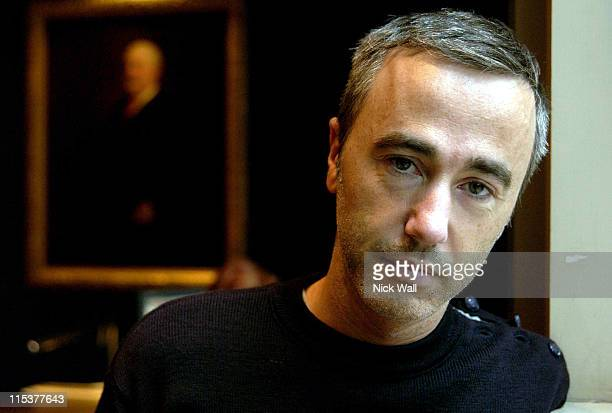 Sebastian Lifshitz director of Wild Side during The Times BFI London Film Festival 2004 Filmmakers Breakfast at Sofitel Hotel in London Great Britain