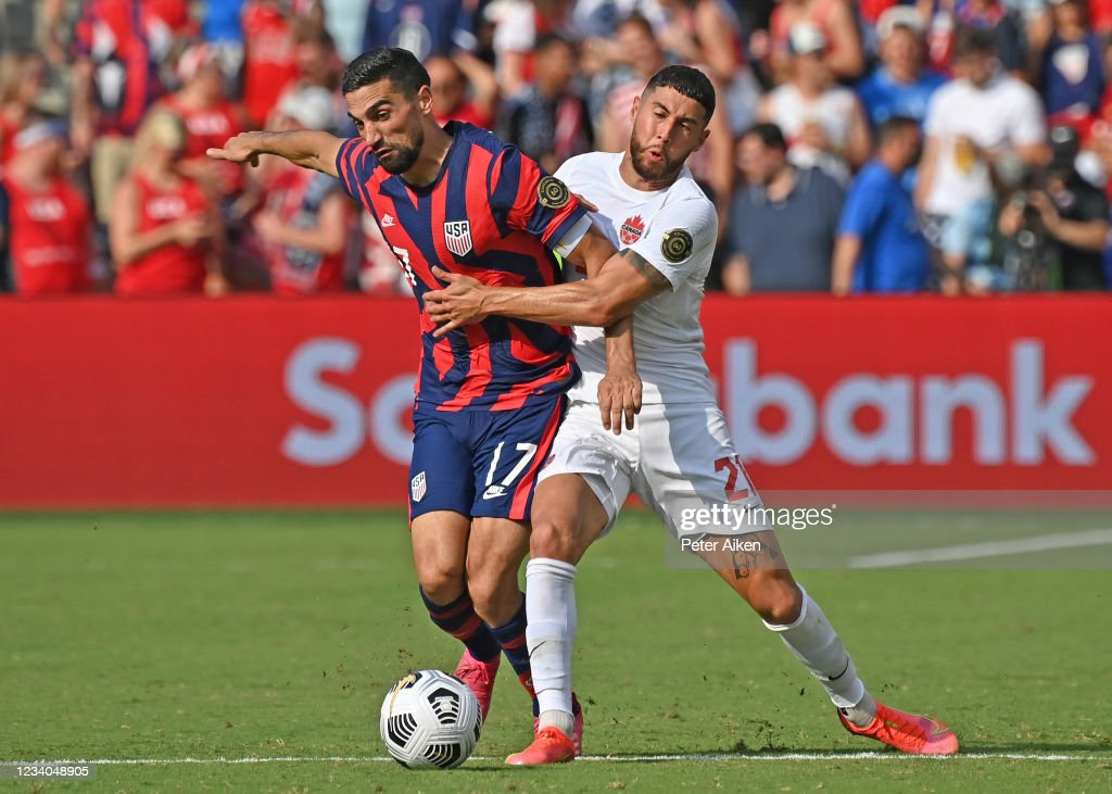 United States v Canada: Group B - 2021 CONCACAF Gold Cup : News Photo