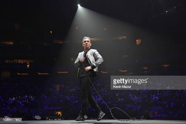 Sebastian Maniscalco performs onstage during the Sebastian Maniscalco 'Stay Hungry' Tour 2018 at Madison Square Garden on January 19 2019 in New York...