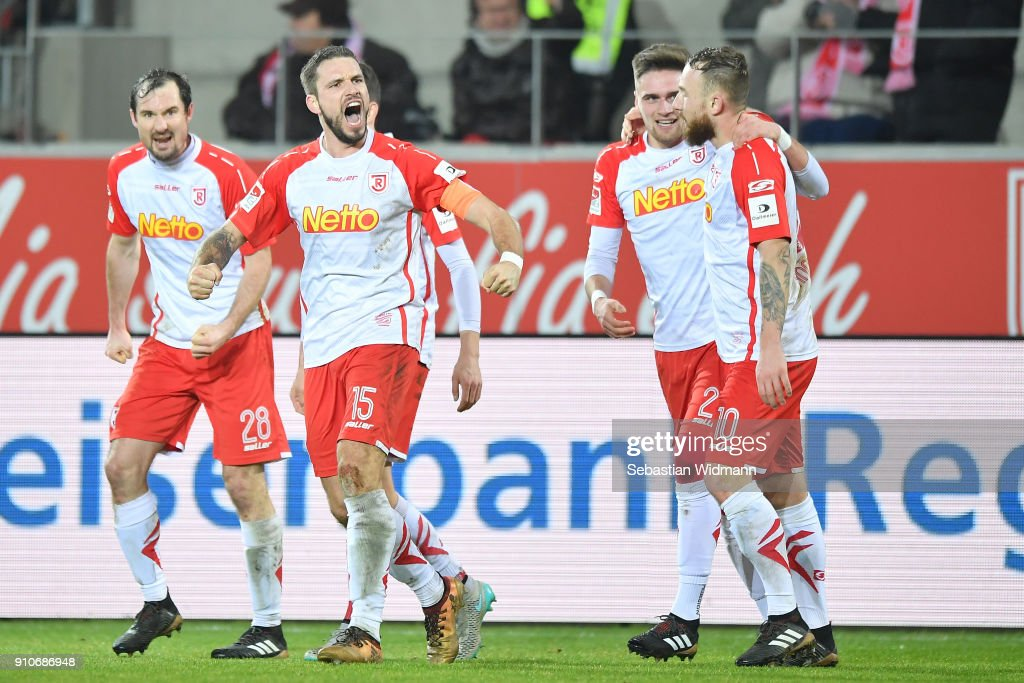 SSV Jahn Regensburg v FC Ingolstadt 04 - Second Bundesliga : News Photo