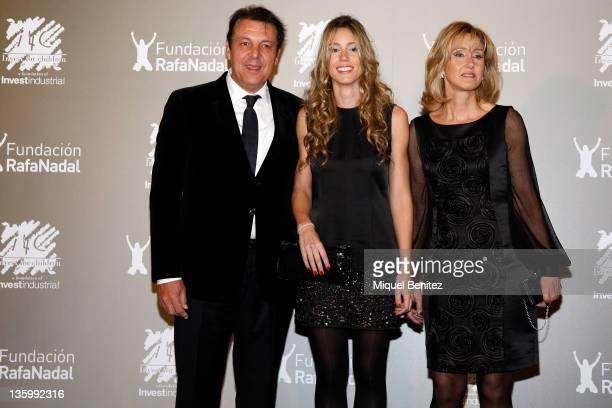 "Sebastian Nadal, Maribel Nadal Parera and Ana Maria Parera attend the ""Juntos Por La Integracion"" charity gala organized by the Foundation Rafa Nadal..."