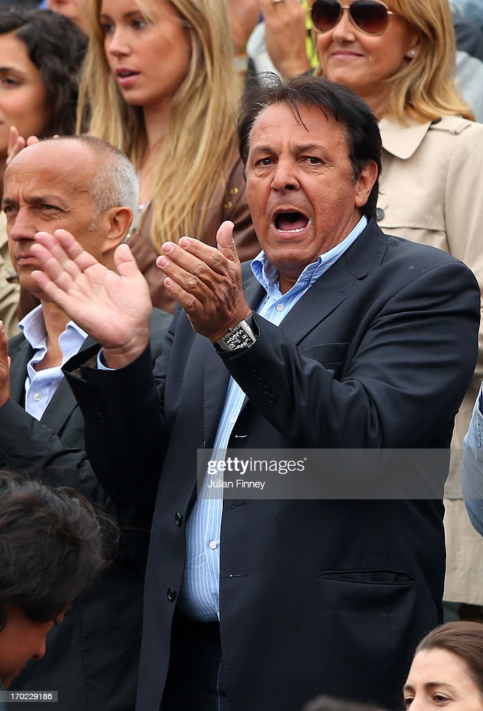 Sebastian Nadal The Father Of Rafael Nadal Of Spain Watches His News Photo Getty Images