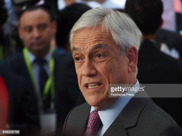 Sebastian Piñera President of Chile in the framework of the VIII Summit of the Americas The event takes place on April 13rd and 14th 2018 at Lima...