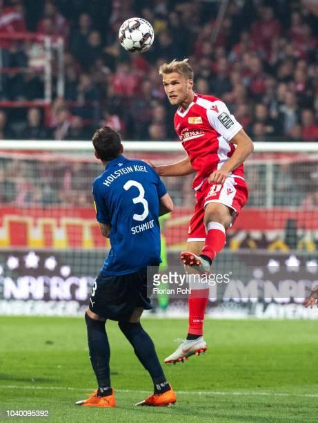 Sebastian Polter of 1FC Union Berlin during the 2nd Bundesliga match between Union Berlin and Kieler SV Holstein at Stadion an der Alten Foersterei...