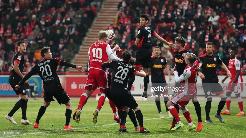1. FC Union Berlin v SSV Jahn Regensburg - Second Bundesliga : ニュース写真