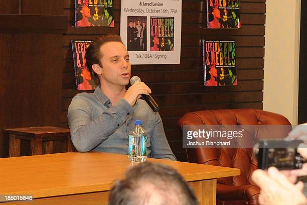 Sebastian Robertson at the book signing for Legends ICONS And Rebels at Barnes Noble bookstore at The Grove on October 16 2013 in Los Angeles...