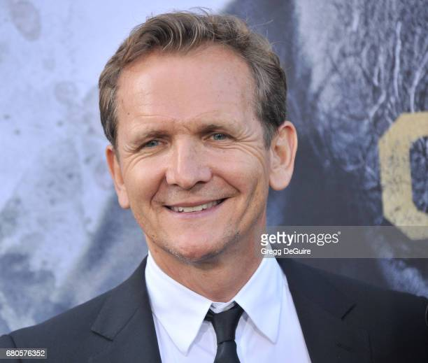 Sebastian Roche arrives at the premiere of Warner Bros Pictures' King Arthur Legend Of The Sword at TCL Chinese Theatre on May 8 2017 in Hollywood...