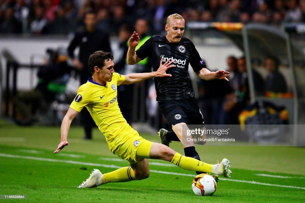 Eintracht Frankfurt v Chelsea - UEFA Europa League Semi Final : First Leg : News Photo