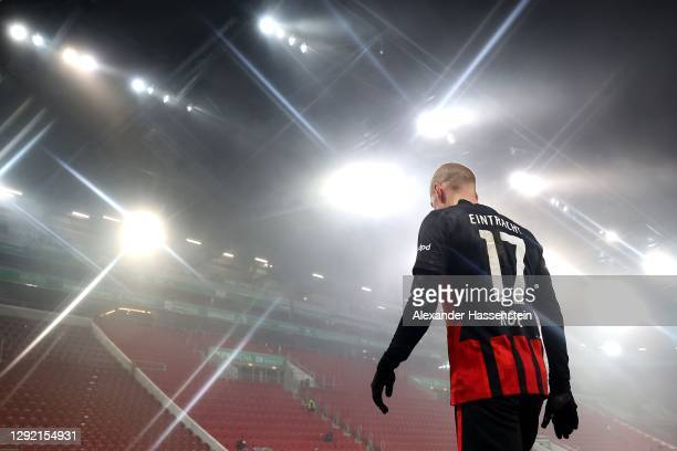 Sebastian Rode of Frankfurt during the Bundesliga match between FC Augsburg and Eintracht Frankfurt at WWK-Arena on December 19, 2020 in Augsburg,...
