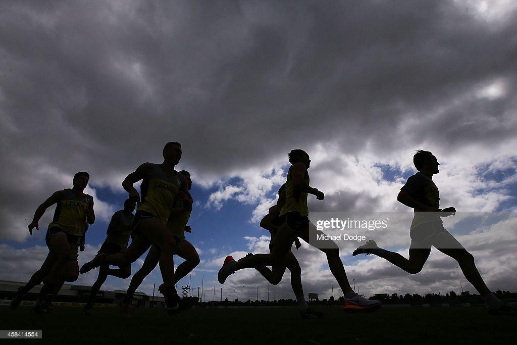 St Kilda FC Training Session