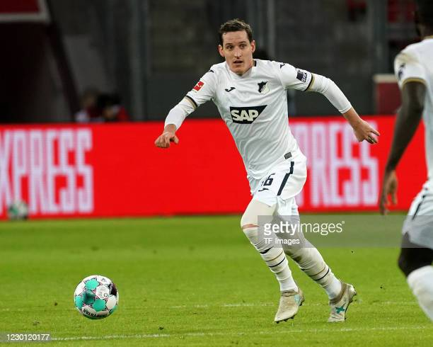 Sebastian Rudy of Hoffenheim during the Bundesliga match between Bayer 04 Leverkusen and TSG Hoffenheim at BayArena on December 13, 2020 in...