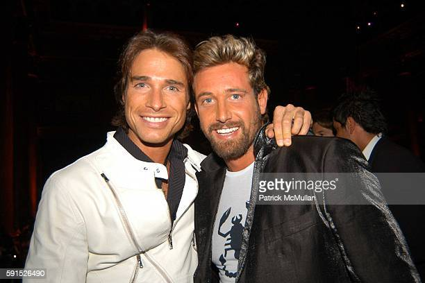 Sebastian Rulli and Gabriel Soto attend People En Espanol's Fourth Annual '50 Most Beautiful' Gala at Capitale on May 18 2005 in New York City