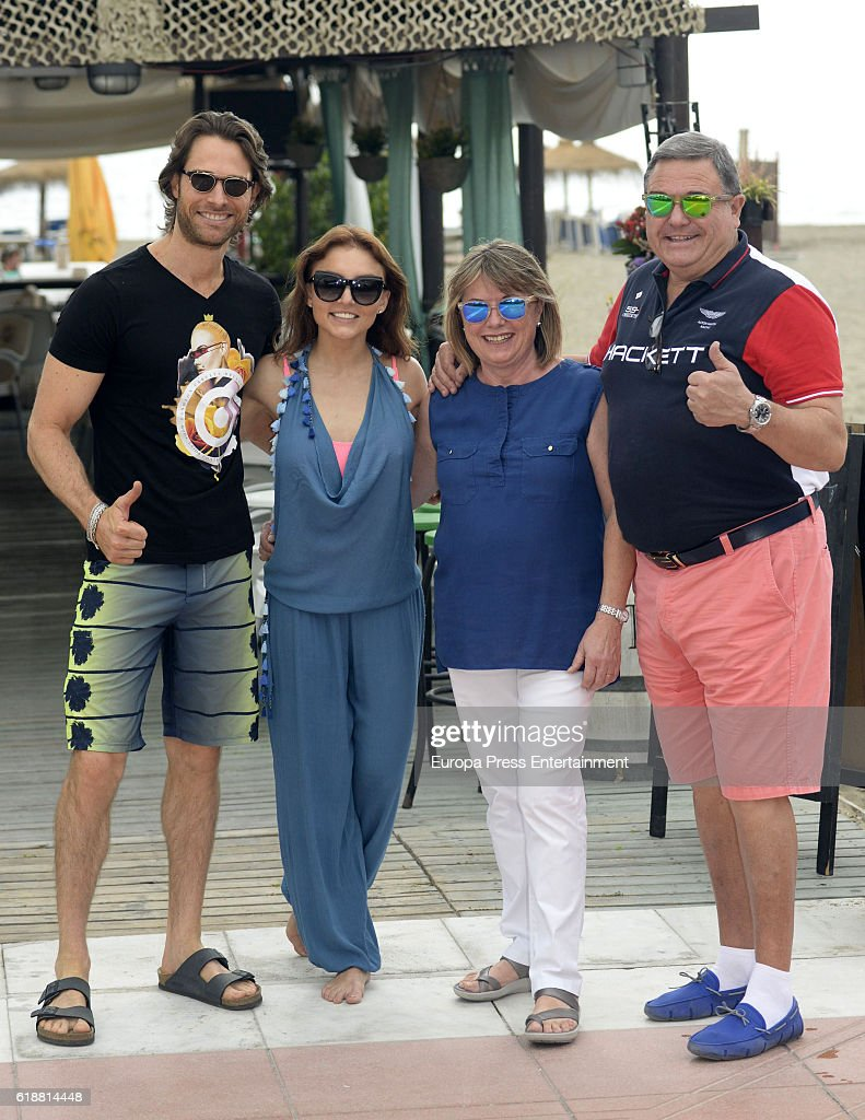 Angelique Boyer X sebastian rulli, his parents and angelique boyer are seen on