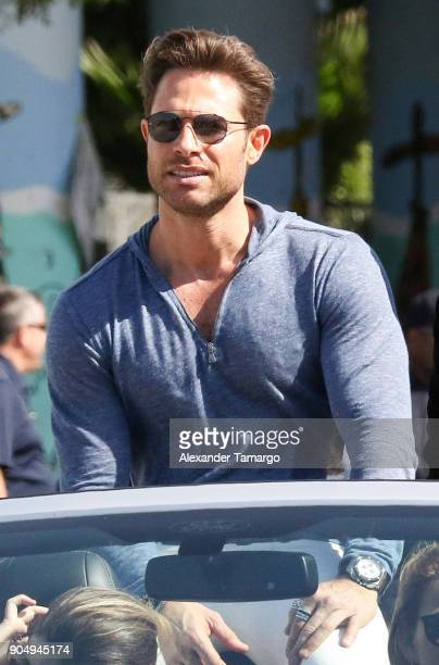 Sebastian Rulli is seen at the 2018 Three Kings Day Parade on January 14 2018 in Miami Florida