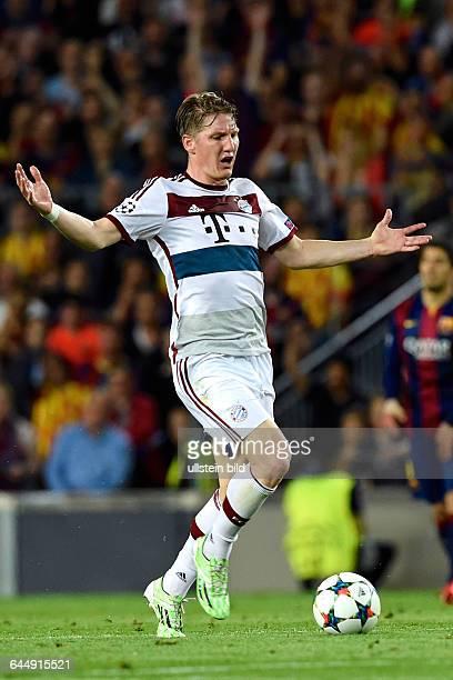 Sebastian Schweinsteiger, FC Barcelona - FC Bayern München, 06 Mai in Barcelona, SpanienFoto: mspb/Jerry Andre