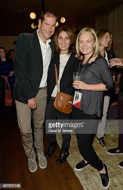 Sebastian Scott Gina Bellman and Mariella Frostrup attend as the newly opened hotel The Hoxton Holborn launches with an immersive theatre play The...