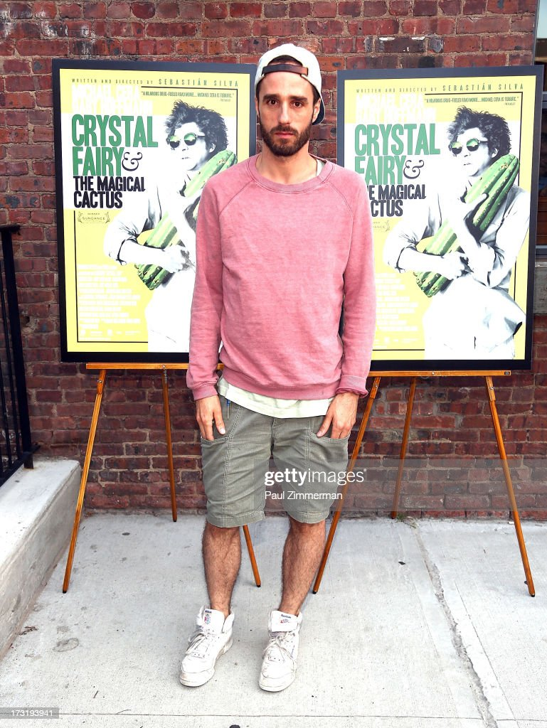 Sebastian Silva attends the 'The Crystal Fairy' New York Screening at Wythe Hotel on July 9, 2013 in the Brooklyn borough of New York City.
