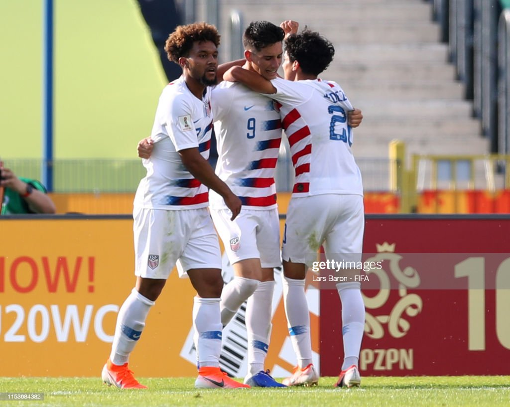 France v USA: Round of 16  - 2019 FIFA U-20 World Cup : News Photo