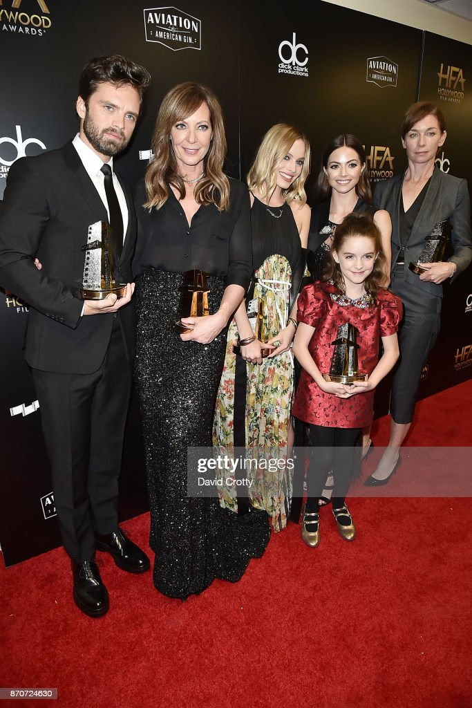 21st Annual Hollywood Film Awards - Backstage : News Photo