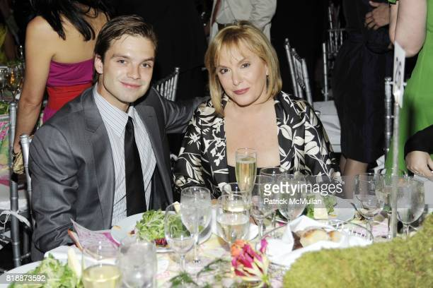 Sebastian Stan and Hilary Shor attend AMERICAN MUSEUM OF NATURAL HISTORY'S 2010 Museum Dance Sponsored by LILLY PULITZER at the American Museum of...