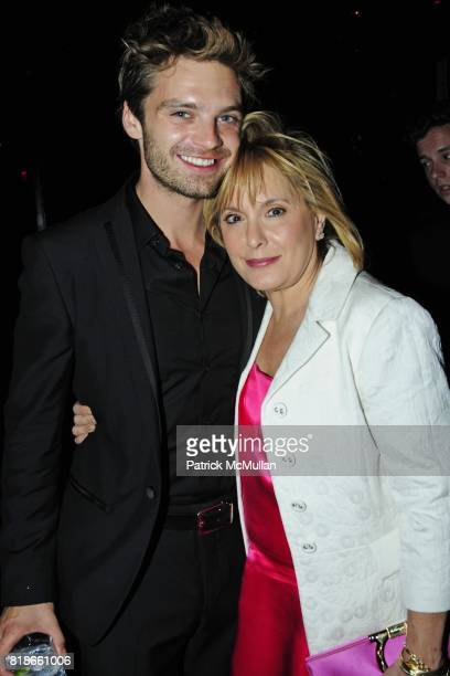 Sebastian Stan and Hilary Shor attend FERRAGAMO Launches ATTIMO On The Top of The Standard at The Standard on June 30 2010 in New York City