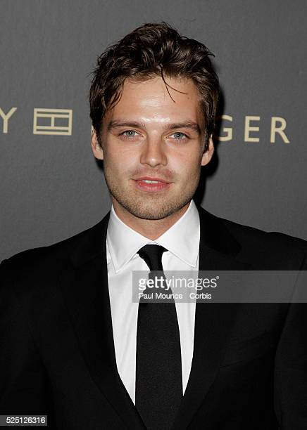 Sebastian Stan arrives at the Hollywood Reporter 'Big 10' Party held at the Getty House