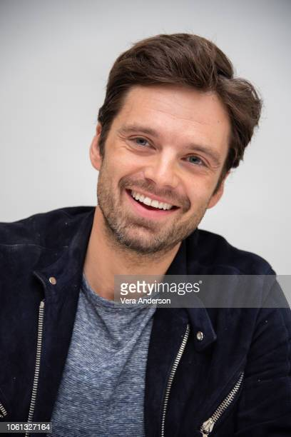Sebastian Stan at the Destroyer Press Conference at the Four Seasons Hotel on November 13 2018 in Beverly Hills California