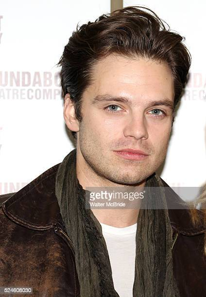 Sebastian Stan attending the Meet Greet for the Roundabout Theatre Company's 'Picnic' at their rehearsal studios in New York City November 29 2012