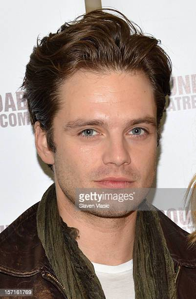Sebastian Stan attends 'Picnic' Cast Photo Call on November 29 2012 in New York City